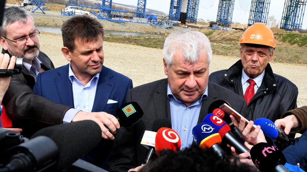 Výstavba D1 pri Košiciach ide podľa plánu
