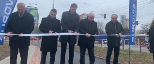 Modernizovaná križovatka na hlavnom ťahu zlepší dopravu v Prešove