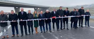 Nová diaľnica pri Košiciach už slúži motoristom