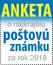 Ankety o najkrajšiu slovenskú poštovú známku roka 2018
