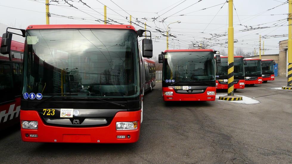 Moderná trolejbusová doprava v Prešove