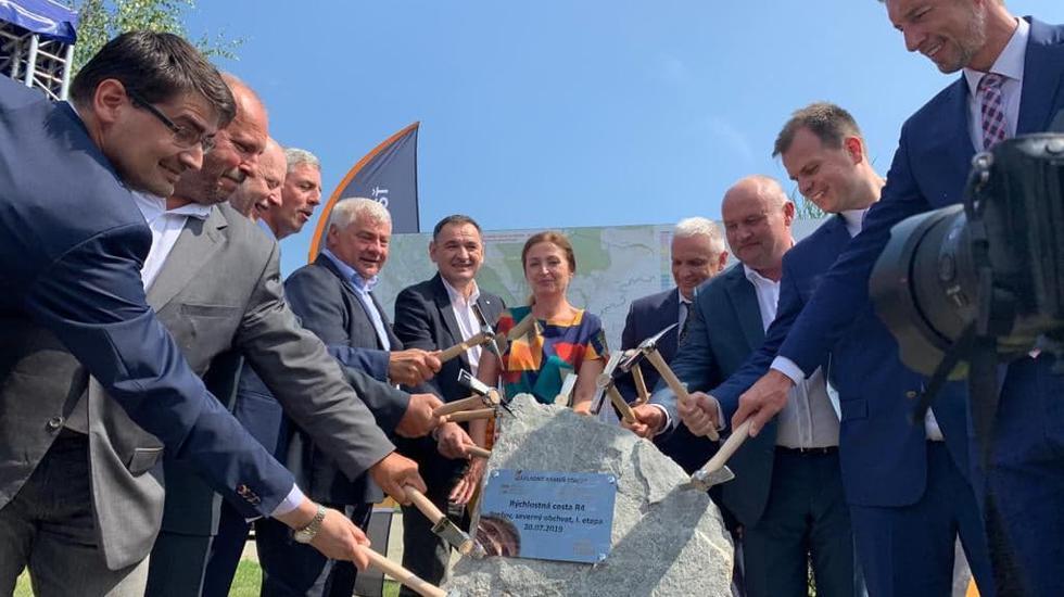 Začala sa výstavba severného obchvatu Prešova