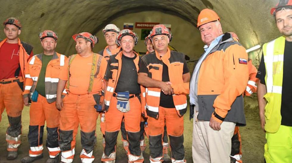 V Prešove bol prerazený tunel o 3 mesiace skôr