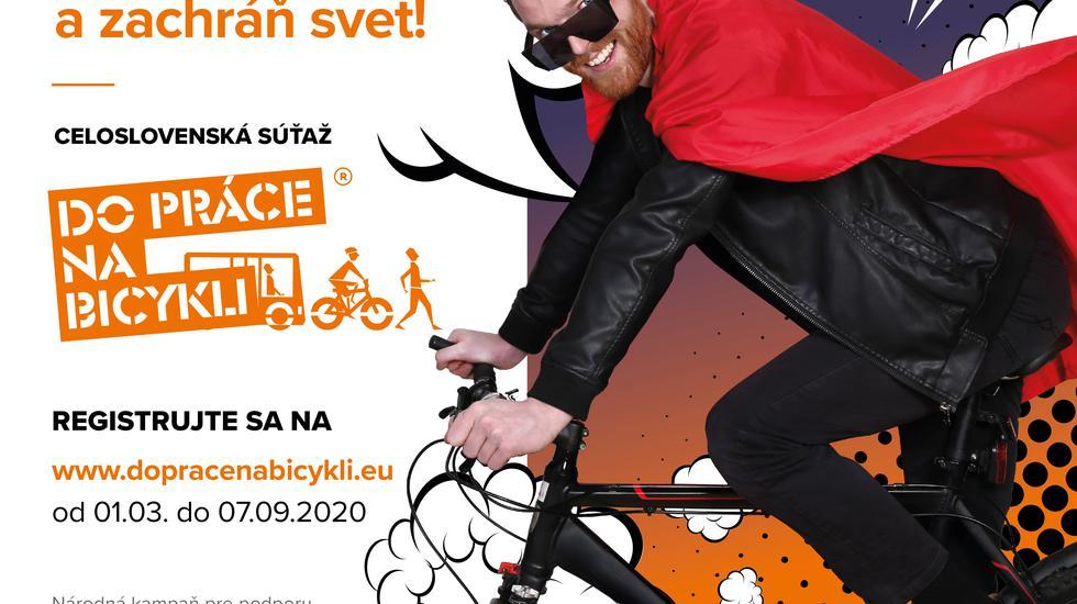Do kampane Do práce na bicykli 2020 sa stále dá prihlásiť, tento rok bude v septembri