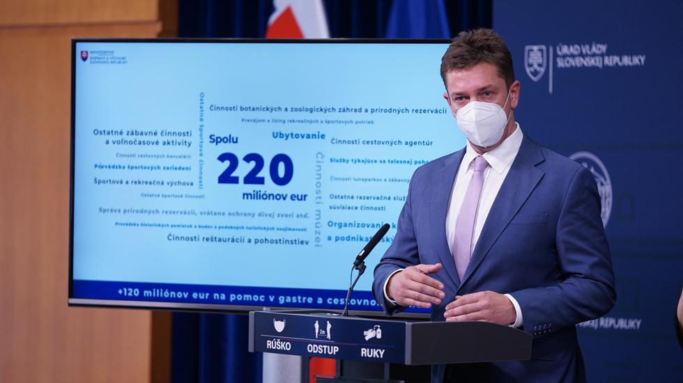 A.Doležal: Gastroprevádzkam a cestovnému ruchu pomôžeme ďalšími 120 miliónmi eur
