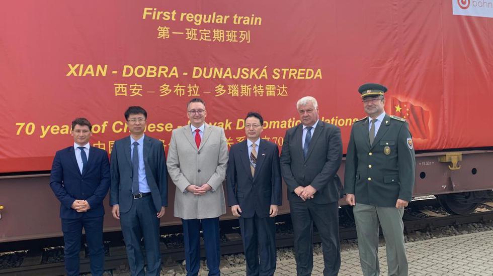 Do terminálu v Dunajskej Strede by mal každý týždeň smerovať nákladný vlak z Číny