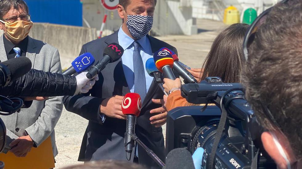Minister dopravy Andrej Doležal skontroloval diaľničné stavby pri Žiline a Ružomberku, bude žiadať hĺbkový audit