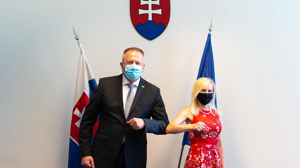 Štátna tajomníčka Katarína Bruncková rokovala so slovinským ministrom o spolupráci na podporu cestovného ruchu